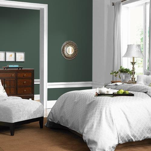 Dark Green Velvet PPG1136-7