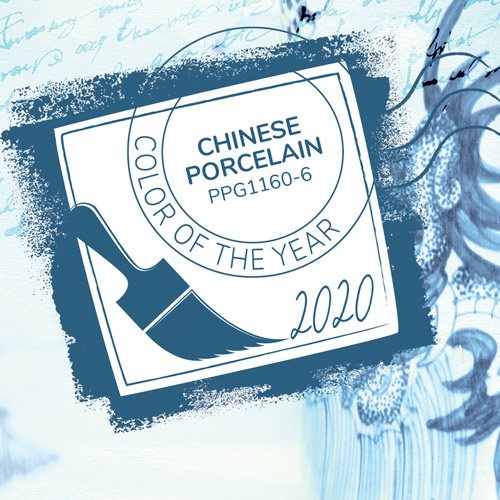 Color Of The Year: Chinese Porcelain