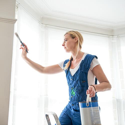 Cómo arreglar problemas de escarchado en la pintura