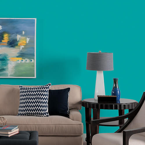 How to make teal color paint