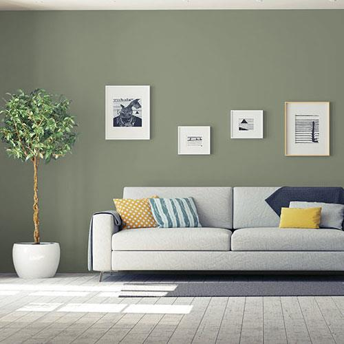 Colorful Rooms Moss: 10GY 26/112 Paint Color From PPG