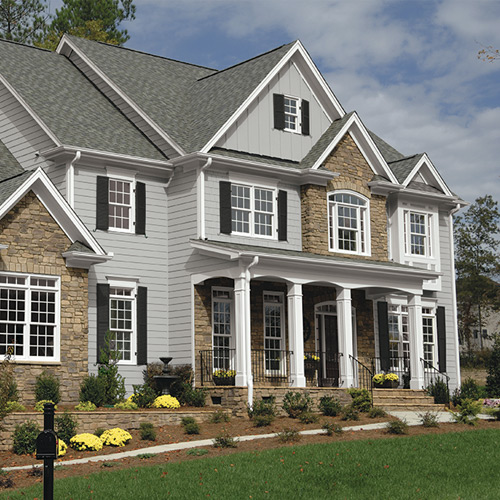 best exterior color palettes articles about painting color inspiration rh ppgpaints com house exterior colors brown house exterior colors with brick