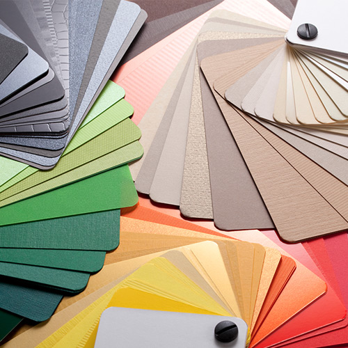 Elegir colores de pintura