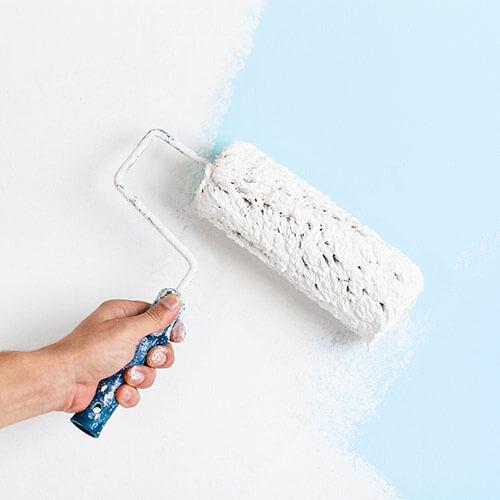 Pintura para interiores: construcción nueva
