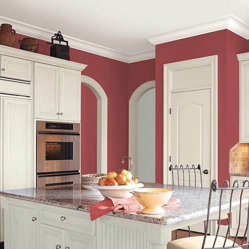 Rustic Kitchen Colors