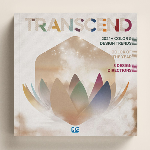 Ordenar el libro de tendencias globales de colores 2021