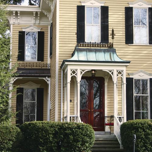 Los mejoresesquemas de colorespara una casa rústica moderna