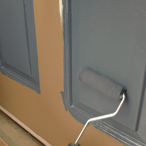 Step 3 - How To Fill & Refine Your Front Door Painting