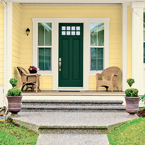 Pintura para la puerta principal