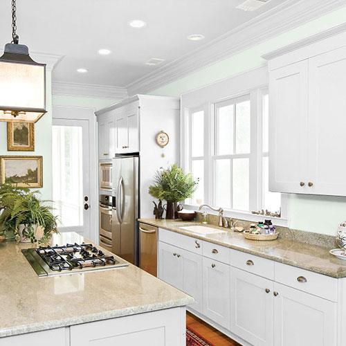 Light Green Kitchen: 70GY 83/060 Paint Color From PPG