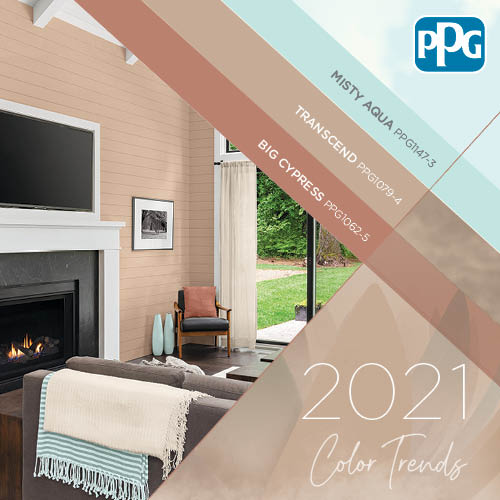 2021 Paint Color Palette Of The Year