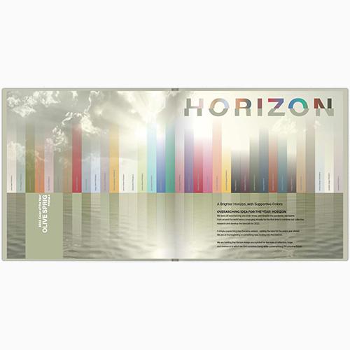 Cartilla de tendencias de color globales 2022
