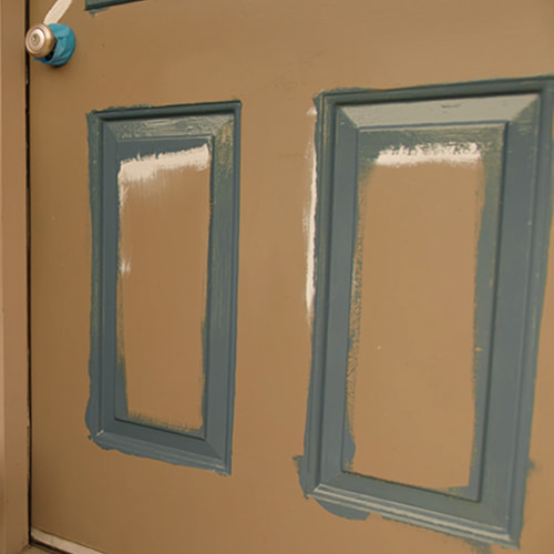Step 2 - Applying Paint To Your Front Door