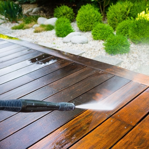Make sure that the wood surface is in good condition