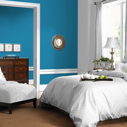 Blue Paisley PPG1238-6