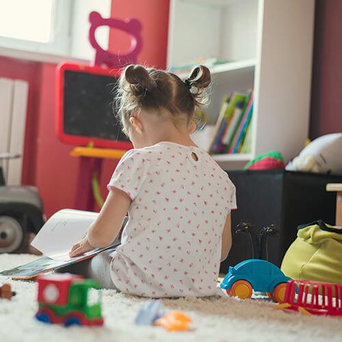 4 esquemas de colores elegantes para habitaciones de niños