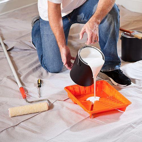 Paint A Light Paint Color Over Darker Walls