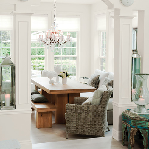 Silver Feather Dining Room Color Schemes