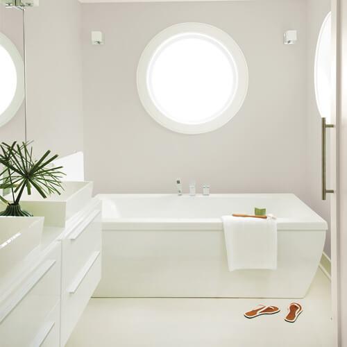 8 esquemas de colores acogedores para baños
