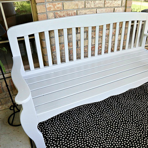 Staining Outdoor Furniture