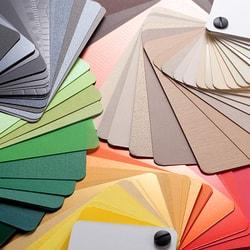 Programa de colores intensos